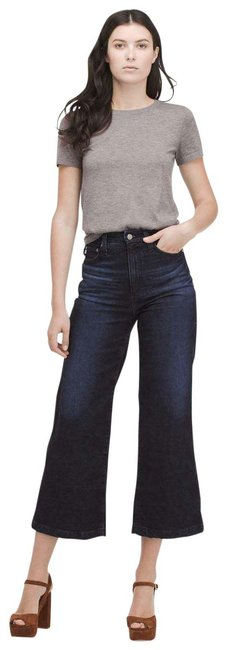 Item - Blue Dark Rinse Yvette High In 7 Years Union Capri/Cropped Jeans Size 26 (2, XS)