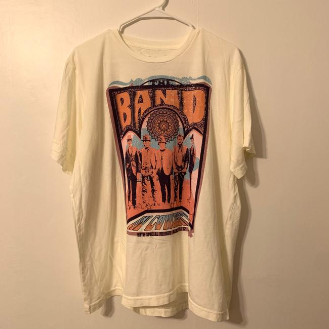 Anthropologie Ivory The Band Graphic Tee Shirt Size 16 (XL, Plus 0x) Anthropologie Ivory The Band Graphic Tee Shirt Size 16 (XL, Plus 0x) Image 2