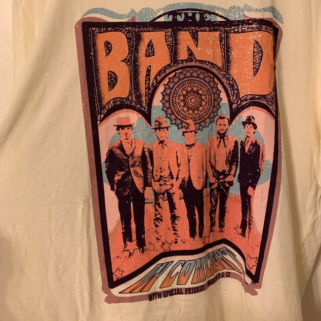 Anthropologie Ivory The Band Graphic Tee Shirt Size 16 (XL, Plus 0x) Anthropologie Ivory The Band Graphic Tee Shirt Size 16 (XL, Plus 0x) Image 3