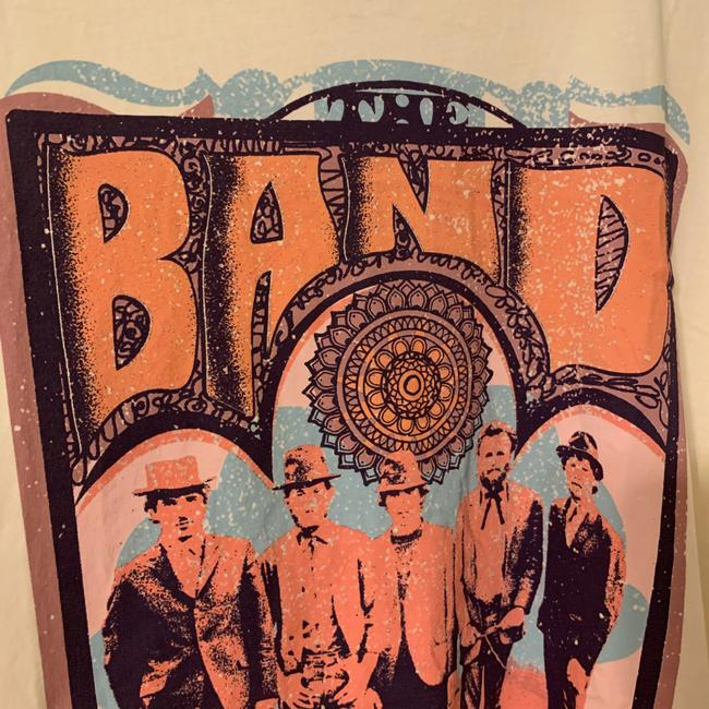 Anthropologie Ivory The Band Graphic Tee Shirt Size 16 (XL, Plus 0x) Anthropologie Ivory The Band Graphic Tee Shirt Size 16 (XL, Plus 0x) Image 4