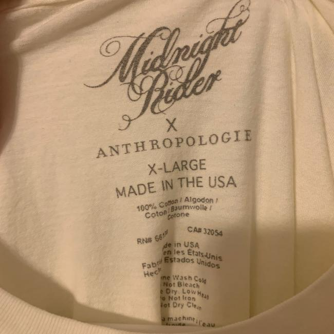 Anthropologie Ivory The Band Graphic Tee Shirt Size 16 (XL, Plus 0x) Anthropologie Ivory The Band Graphic Tee Shirt Size 16 (XL, Plus 0x) Image 6