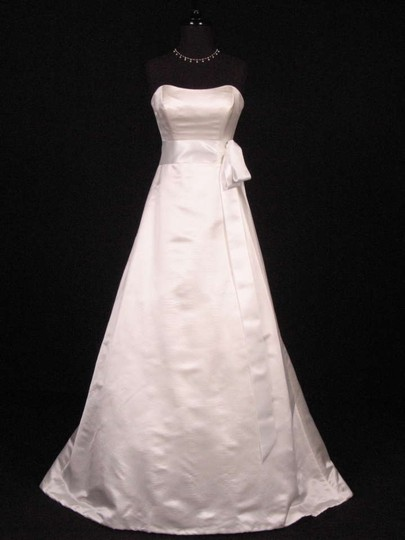 Bridal White Ribbon 3/4