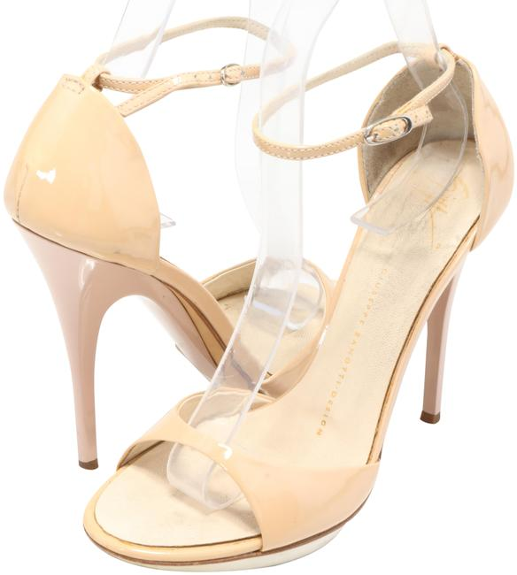 Item - Nude Sophie Patent Leather Sandals Size EU 37 (Approx. US 7) Regular (M, B)