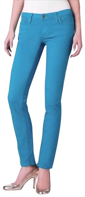 Item - Blue Broome Street Teal Skinny Jeans Size 25 (2, XS)
