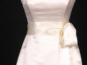 Ivory Ribbon Sash 2 3/4