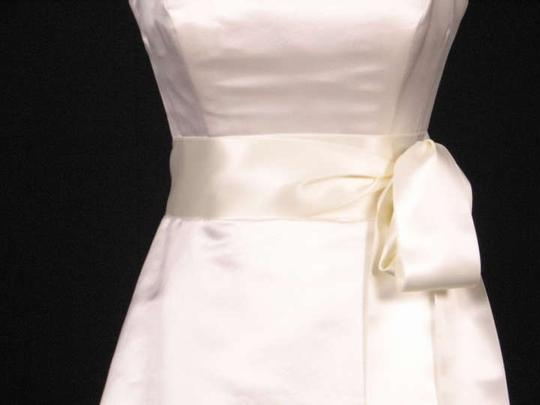 Ivory Ribbon Sash Sashes