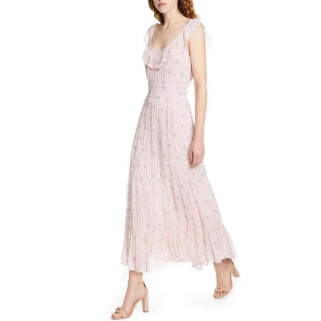Item - Pink Joanne Maxi Mid-length Cocktail Dress Size 0 (XS)