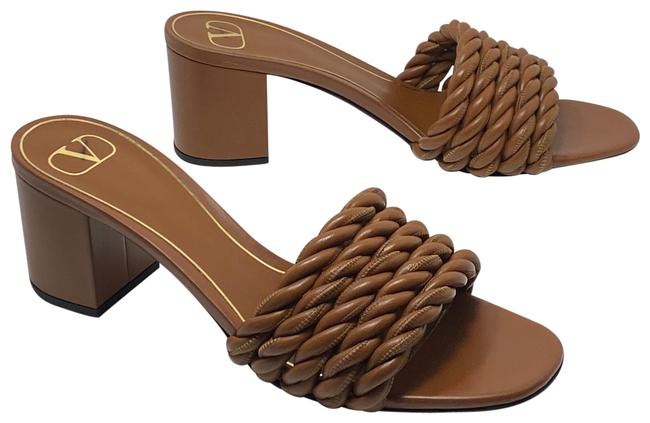 Item - Brown The Rope Leather Mules/Slides Size EU 41 (Approx. US 11) Regular (M, B)