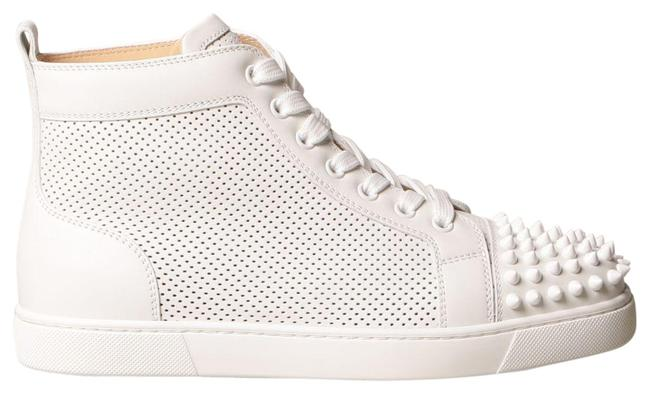 Item - White Lou Spikes Sneakers Size EU 37.5 (Approx. US 7.5) Regular (M, B)