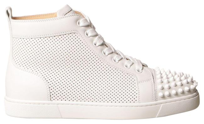 Item - White Lou Spikes Sneakers Size EU 40 (Approx. US 10) Regular (M, B)