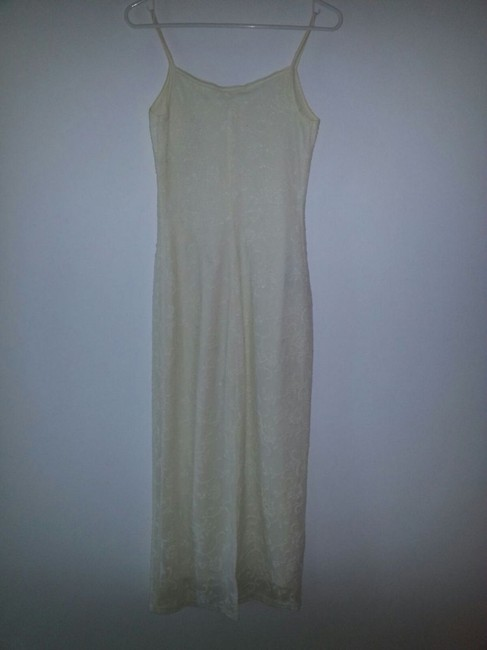Off White Maxi Dress by 579