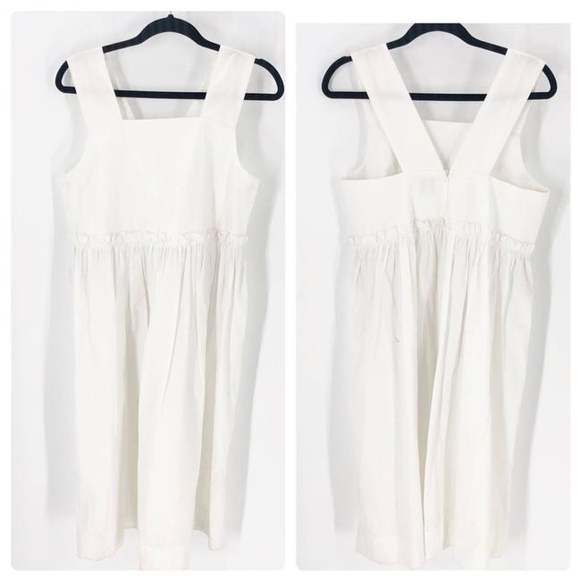 Item - White High M Short Casual Dress Size 8 (M)