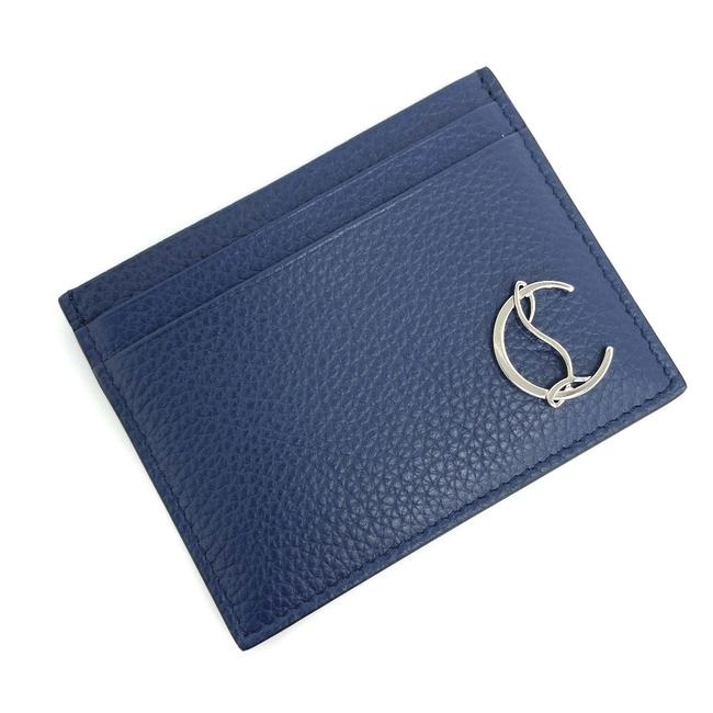 Item - Navy / Red Color Card Case Kios Pass 3195195 Q274 Calf Leather Ladies K10316607 Wallet