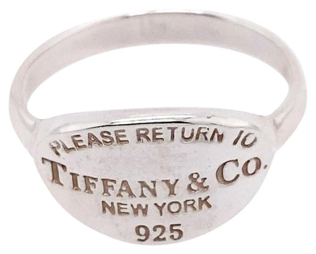 Item - Silver Return To Oval Ring