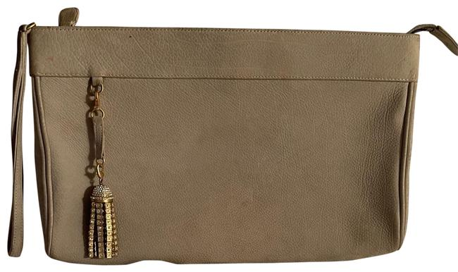 Item - Soft Lime Green Suede Leather Clutch
