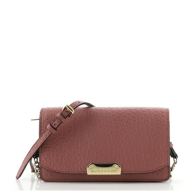 Item - Pink Chain Madison Leather Wallet