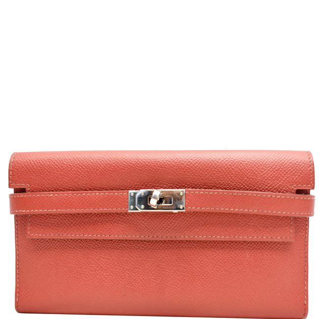 Item - Red Kelly Epsom Leather Wallet
