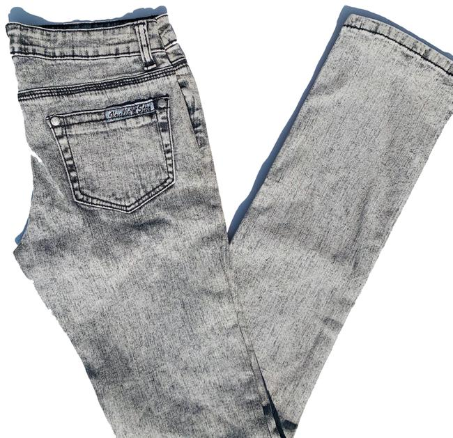 Item - White Washed Straight Leg Jeans Size 2 (XS, 26)