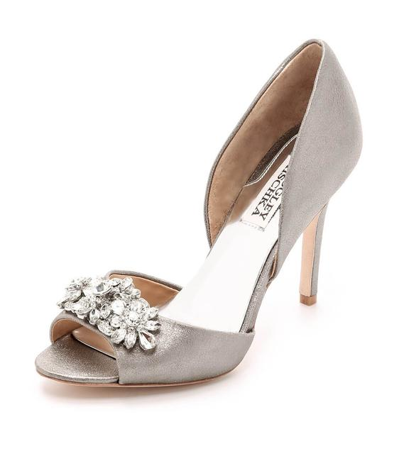 Item - Silver Pewter Giana Ii D'orsay Pumps Size US 8 Regular (M, B)