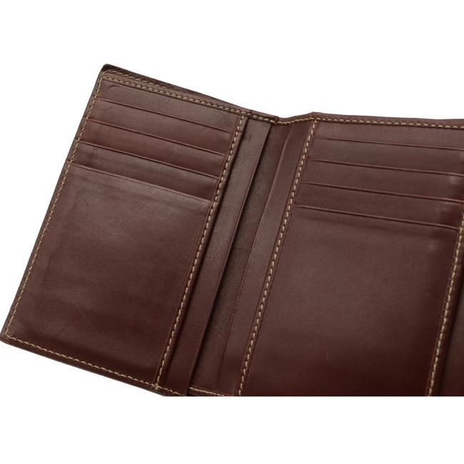 Gucci Brown Shima 2-fold Notebook Type Leather 146227 Wallet Gucci Brown Shima 2-fold Notebook Type Leather 146227 Wallet Image 5