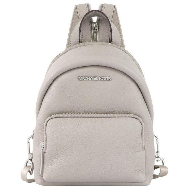 Item - Erin Convertible Gray Leather Backpack