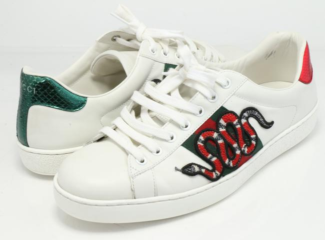 Item - White Ace Embroidered Sneakers Shoes