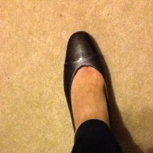 Etienne Aigner Leather Black Pumps