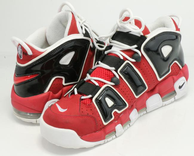 Item - Red/White/Black Air More Uptempo Sneakers Shoes