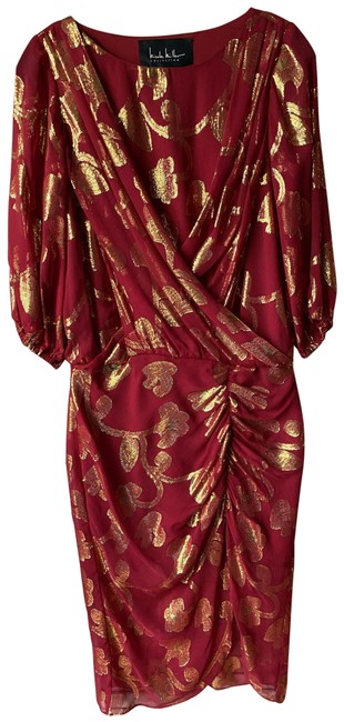 Item - Red Gold Msrp Long Casual Maxi Dress Size 4 (S)