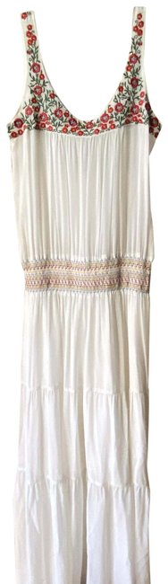 Item - White Red Green Msrp Long Casual Maxi Dress Size 4 (S)