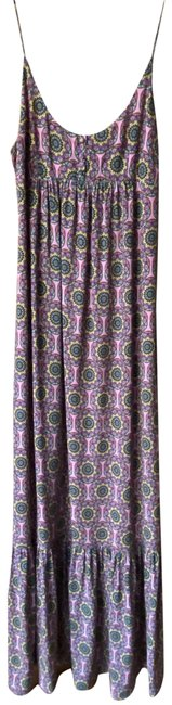 Item - Pink Blue Yellow Msrp Long Casual Maxi Dress Size 4 (S)