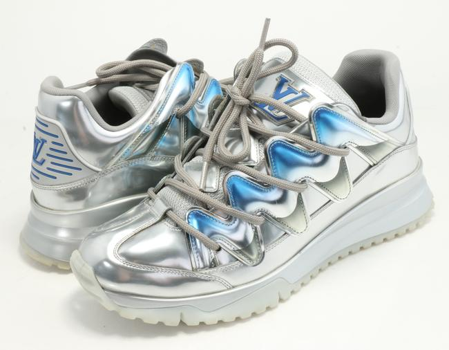 Item - Silver Zig Zag Sneakers Shoes