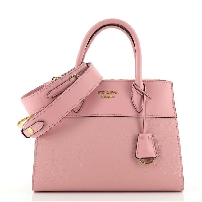 Item - Paradigme Saffiano with City Calf Small Pink Leather Tote