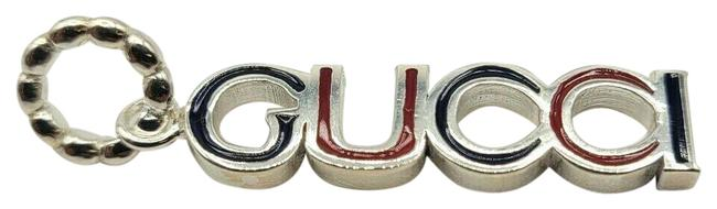 Item - Silver Logo with Black and Red Logo Letters 461807 9098 N Charm