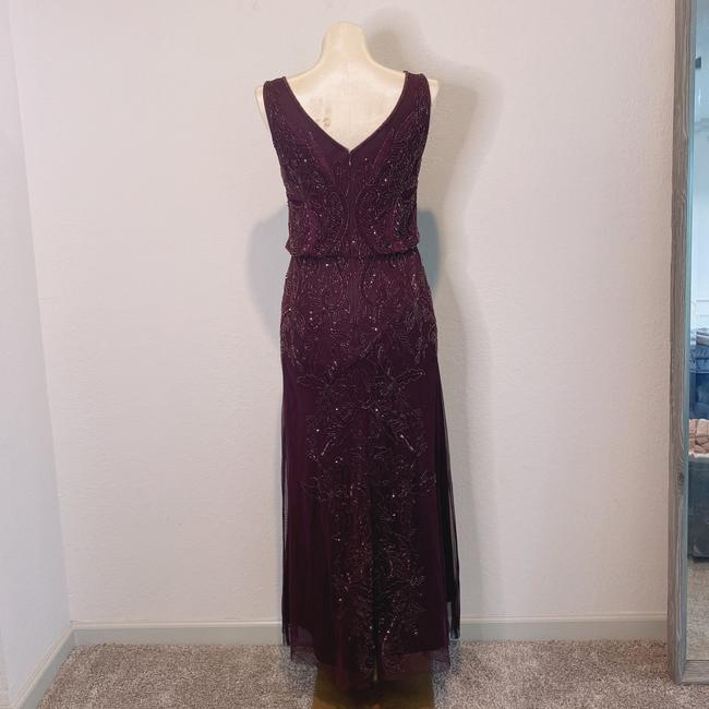 Adrianna Papell Deep Amethyst 40828493 Long Cocktail Dress Size 6 (S) Adrianna Papell Deep Amethyst 40828493 Long Cocktail Dress Size 6 (S) Image 6