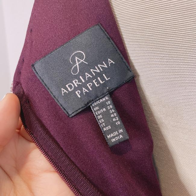 Adrianna Papell Deep Amethyst 40828493 Long Cocktail Dress Size 6 (S) Adrianna Papell Deep Amethyst 40828493 Long Cocktail Dress Size 6 (S) Image 7