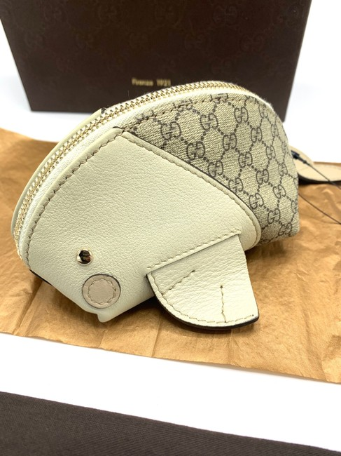 Item - Off White Gg Fish Zipped Coin Micro Purse Made In Italy Limited #256863 Cosmetic Bag