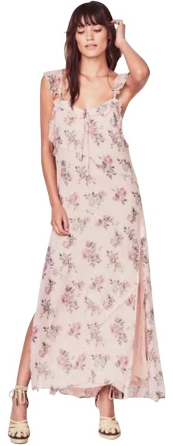 Item - Pink Canopy Sally Floral Long Casual Maxi Dress Size 12 (L)