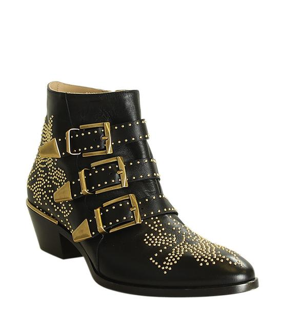 Item - Black Susanna Leather Ankle (198272) Boots/Booties Size EU 39.5 (Approx. US 9.5) Narrow (Aa, N)