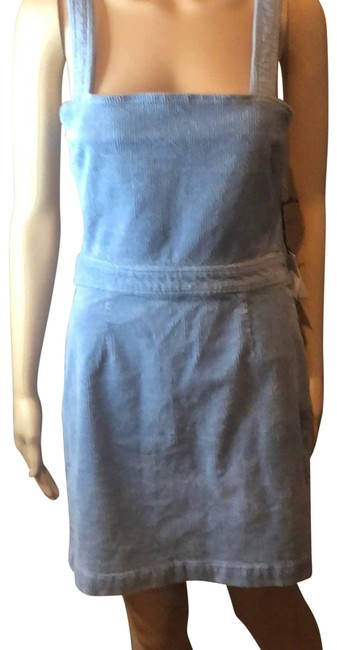 Item - Blue Seasonal Collection Overall Short Casual Dress Size 8 (M)