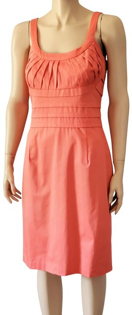 Item - Coral Pleated Mid-length Casual Maxi Dress Size 10 (M)