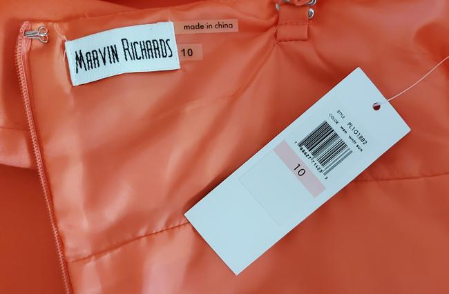 Marvin Richards Coral Pleated Mid-length Casual Maxi Dress Size 10 (M) Marvin Richards Coral Pleated Mid-length Casual Maxi Dress Size 10 (M) Image 2