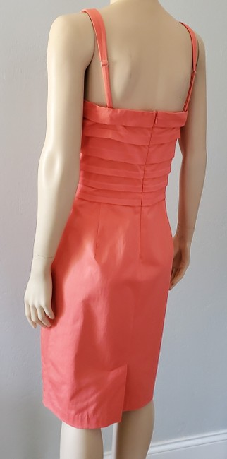Marvin Richards Coral Pleated Mid-length Casual Maxi Dress Size 10 (M) Marvin Richards Coral Pleated Mid-length Casual Maxi Dress Size 10 (M) Image 3