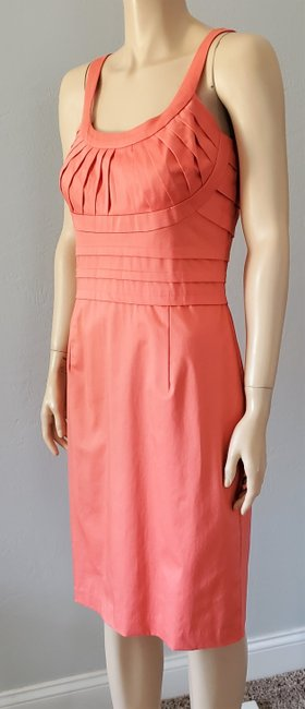 Marvin Richards Coral Pleated Mid-length Casual Maxi Dress Size 10 (M) Marvin Richards Coral Pleated Mid-length Casual Maxi Dress Size 10 (M) Image 5