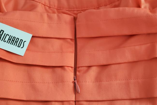 Marvin Richards Coral Pleated Mid-length Casual Maxi Dress Size 10 (M) Marvin Richards Coral Pleated Mid-length Casual Maxi Dress Size 10 (M) Image 7