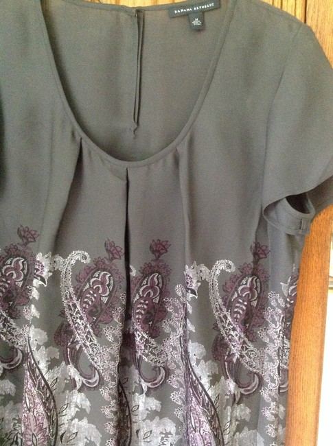 Banana Republic Top Grey/multi