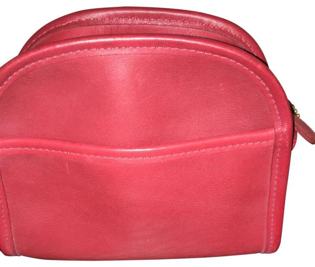 Item - Vintage Abbie Red Leather Cross Body Bag