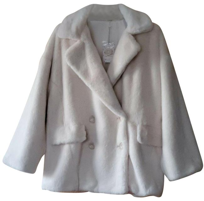 Item - Ivory Kate Faux Double Breasted Coat Size 12 (L)