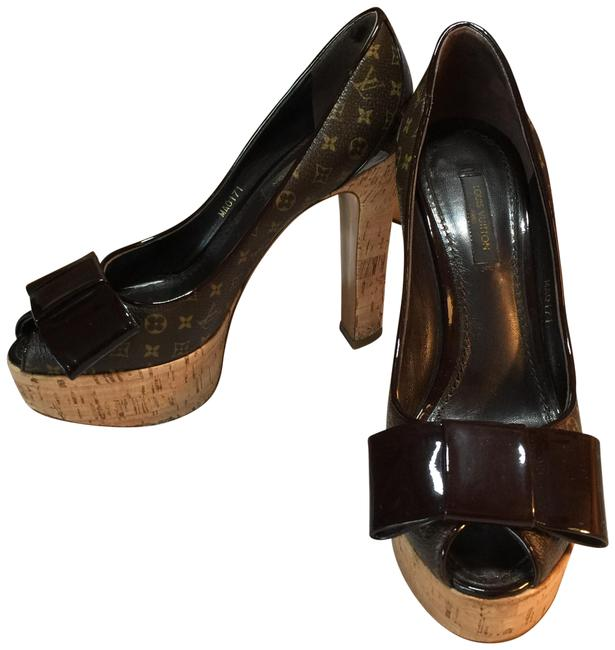 Item - Brown Beige Italy Formal Shoes Size EU 35.5 (Approx. US 5.5) Regular (M, B)