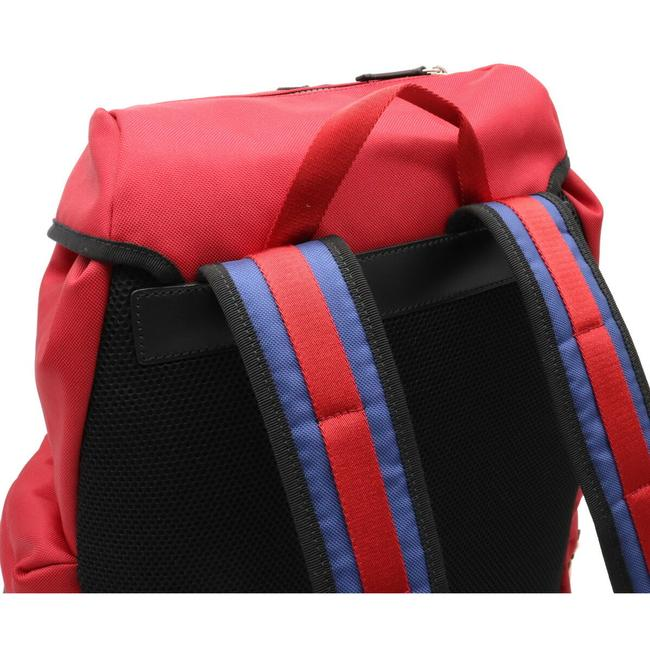 Gucci Embroidered Tiger Rucksack Techno Canvas 429037 Multi-color / Red Color Leather Backpack Gucci Embroidered Tiger Rucksack Techno Canvas 429037 Multi-color / Red Color Leather Backpack Image 4